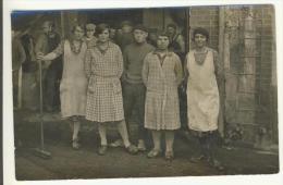 Carte Photo A Identifier Femmes Usine - Cartes Postales