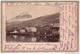 ISLANDE - BAIE DE FASKRUDSFJORD - Collection des Oeuvres de la Mer - avant 1904