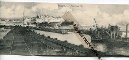 - Tanger - Panorama Panorama En Quatre Vues, 4 Carte, Vista General, Splendide, Très Rare, Non écrite, TTBE, Scans. - Tanger