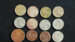 FINLAND FINNLAND Soumi 10 Penniä + 50 Pennia (1 Coin) =  Lot Of 12 Coins - Finland