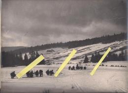 Col De La Schlucht Vosges Chasseurs Alpins 1918 Photos Française   Poilus 1914-1918 14-18 Ww1 WWI 1.wk - War, Military