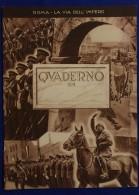 Copertina Cover  Couverture Einband Roma La Via Dell'Impero Anni 30/40 #L436 - Old Paper