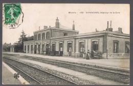 AVRANCHES , Intérieur De La Gare . - Avranches