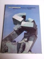 Lib192 Aeritalia Finmeccanica, Bronzo Giò Pomodoro Scultura Sole Aerospazio '89, Sculpture, Storia Opera Disegni - Altri