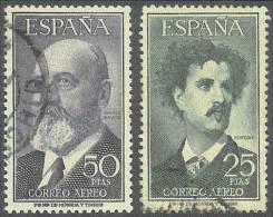 ESPAÑA 1955/56 - Edifil #1164/65 - VFU - Usati