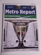 Lib195 Rivista Metro Report, Public Transport, Metropolitain, Tram, Tramway, Light Rail, Railways, Crossrail - Transporto