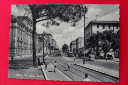 Italie - ROMA - Via Appia Nuova - 1957 - Animation Tramways - Other