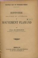 De Haulleville Et Hamélius Sur Le Mouvement Flamand - Histoire
