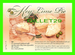 RECETTES - RECIPES - FLORIDA STE PIE - KEY LIME PIE - - Recettes (cuisine)