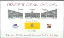 ESPAÑA 2002 - PRUEBA OFICIAL - Edifil #78 - MNH ** - 1931-Hoy: 2ª República - ... Juan Carlos I
