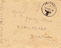Feldpost WW2: To Ausbildungs Bataillon 4 From Feldersatz-Bataillon 335 (2. Kompagnie) FP 11870C Dtd 11.1.1943 -  Letter - Militaria