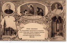 St-Germain-du-Crioult Par Condé-sur-Noireau,50é Ani Du Sacerdoce De M.L'Abbé PIHAN - Other Municipalities