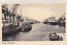 ¤¤  -   BREME   -   BREMEN   -  Überseehafen   -  Bateaux Dans Le Port    -  ¤¤ - Bremen
