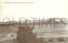 PORTUGAL - BENAVENTE - ASPECTO PARCIAL DA VILA - 20S PC. - Santarem