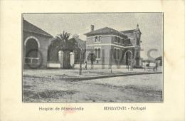 PORTUGAL - BENAVENTE - HOSPITAL DA MISERICORDIA - OLD PRINT. - Santarem