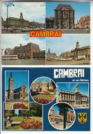 CAMBRAI 59  - Petit Lot De 2 CPSM CPM GF - Nord - Cambrai