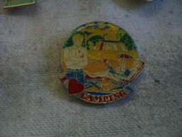 Pin´s I Love Camping - Badges