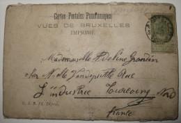 Dépliant 16 Vues, Cartes Postales Panoramiques, Vues De Bruxelles, N.S.B. Ed. Déposé - Circulé - Panoramic Views