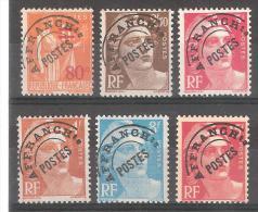 France, Préoblitérés / PREO, Lot De 6 Timbres Neufs * / **, Type Paix & Gandon, TB,cote 5,50 Euros - Préoblitérés