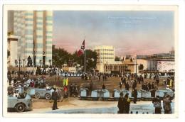 CPA  Paris Drapeau Nazi Place De Varsovie - Exposiciones