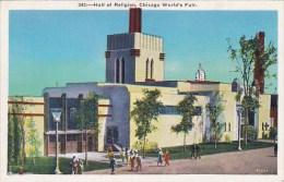 Hall Of Religion Chicago World's Fair 1933-34 - Esposizioni