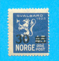 NORGE NORVEGE SURCHARGE 1925 / MNH** / AD 82 - Neufs