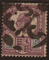 GB 1911 5d Purple & Blue KE VII SG 293 U RV2144 - 1902-1951 (Re)