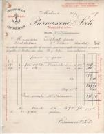 FACTURE VINS BERNASCONI-SCETI à MOULINS (ALLIER) 1907 - France