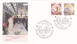 Pope John Paul II - Visit: 1983 Italy Termoli (G37-9a) - Buddhismus