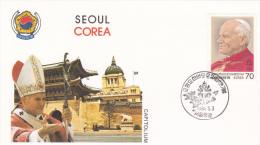Pope John Paul II - Visit: 1984 Corea Seoul (G37-9a) - Buddhism