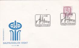 Finland 1982 Ski Championship Souvenir Cover - Scouting
