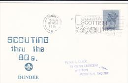 Great Britain 1981 Scouting Thru The 80s Souvenir Card - Scouting