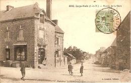 35 - CORPS-NUDS - Route De La Gare - Altri Comuni