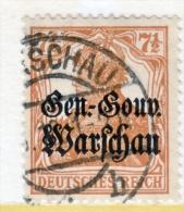 German Occupation Poland N 9  (o) - Occupation 1938-45