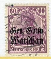 German Occupation Poland N 16  (o) - Occupation 1914-18