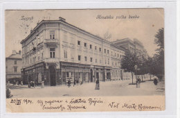 CROATIA ZAGREB Nice Postcard - Kroatië