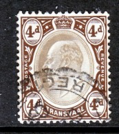 Transvaal  257    (o)  Wmk. 3 - South Africa (...-1961)