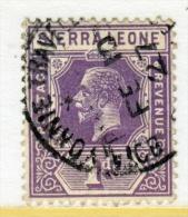 Sierra Leone  123  (o)  Wmk. 4 - Sierra Leone (...-1960)
