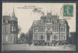 - CPA 27 - Louviers, Caisse D'Epargne Et Rue Saint-Germain - Louviers