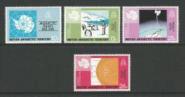 Antarctic Treaty 1961- 1981 Set Of 4 Complete MUH  Scott Cat No's 82/85 Nice Scott Catalogue Value - British Antarctic Territory  (BAT)