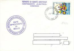 A212 - MISSIONI MILITARI DI PACE - ALBATROS MOZAMBICO - ONU MISSION - ITALFOR - REPARTO SANITA' - 6. 1946-.. Repubblica