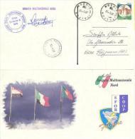 A15 - MISSIONI MILITARI DI PACE -BOSNIA ITALFOR- ONU MISSION - BRIG. MULTINAZ. NORD - GENERALE CANTONE - 6. 1946-.. Republic