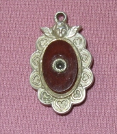 1 Medaille Religieuse - Oeilleton - Notre Dame De Lorette - Religión & Esoterismo