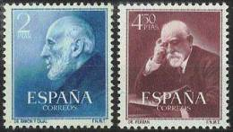 ESPAÑA 1952 - Edifil #1119/20 - MNH ** - 1951-60 Nuevos & Fijasellos