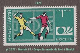 1974 - Europe - Bulgarie - Football - 1 S. Phases De Jeu - - Coppa Del Mondo
