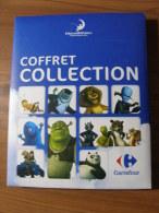CARTES CARREFOUR DREAMWORKS  - COFFRET COLLECTION + 184 CARTES DONT 2 EXTRA SPECIALES 21 SPECIALES 18 TITANES - Non Classificati