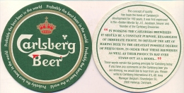 #D71-168 Viltje Carlsberg - Portavasos