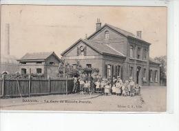 BAUVIN - La Gare De Bauvin-Provin - état (timbre Décollé) - France