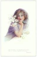 Portrait Of A Lady - Artist Signed Helena Horowitz - Donne