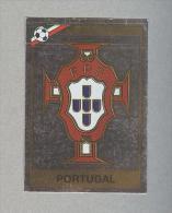 PORTUGAL..PORTOGALLO... .SCUDETTO..PANINI  MEXICO 86....FOOTBALL..FIGURINE. ..CALCIO - Panini